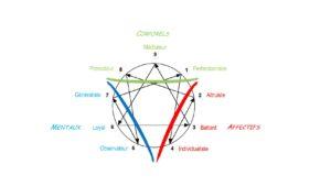Diagramme 3 centres 9 types